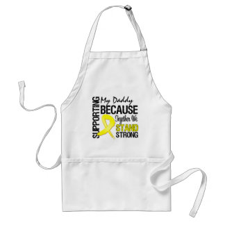 Supporting My Daddy We Stand Strong - Military Adult Apron