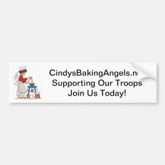 Supporting Our Troops Bumper Sticker