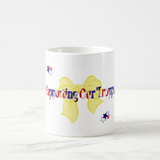 Supporting the Troops Coffee Mug