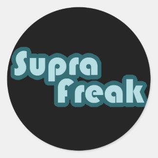Supra Freak Classic Round Sticker