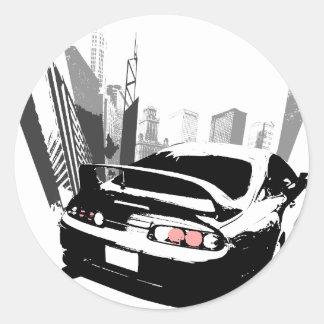 Supra Rollin' Classic Round Sticker