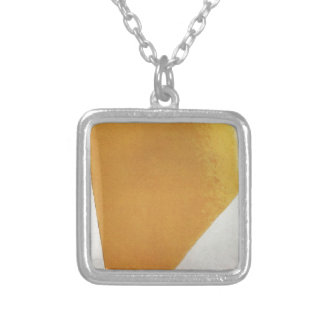 Suprematic Painting by Kazimir Malevich Square Pendant Necklace
