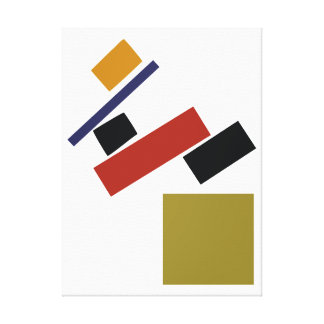 Suprematism by Kazimir Malevich Canvas Print