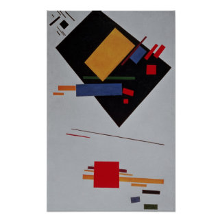Suprematist Composition, 1915 Poster