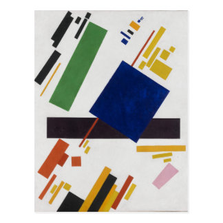 Suprematist Composition by Kazimir Malevich 1916 Postcard