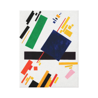 Suprematist Composition by Kazimir Malevich Canvas Print