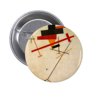 Suprematist Painting by Kazimir Malevich 6 Cm Round Badge