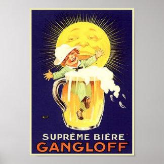 Supreme Biere Gangloff Poster