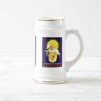 Supreme Biere Gangloff Vintage Liquor Label Mug