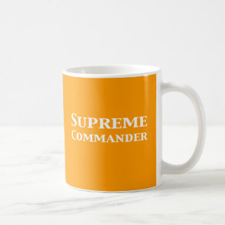 Supreme Commander Gifts Coffee Mugs