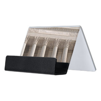 Supreme Court of the United States Desk Business Card Holder
