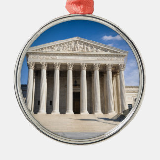 Supreme Court of the United States Metal Ornament