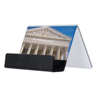 Supreme Court of the United States of America Desk Business Card Holder