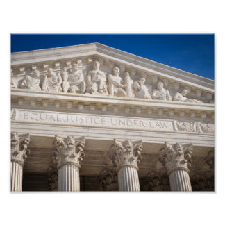 Supreme Court of the United States of America Poster