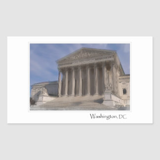 Supreme Court of the United States Rectangular Sticker
