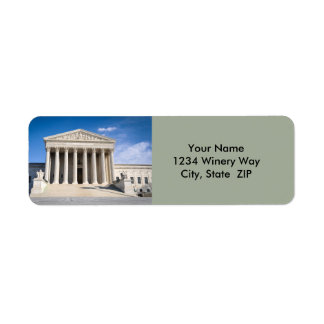 Supreme Court of the United States Return Address Label
