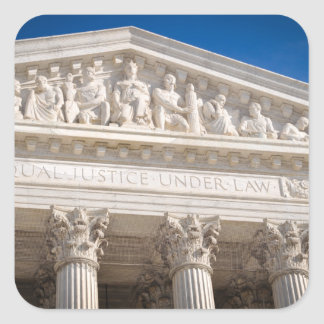 Supreme Court of the United States Square Sticker