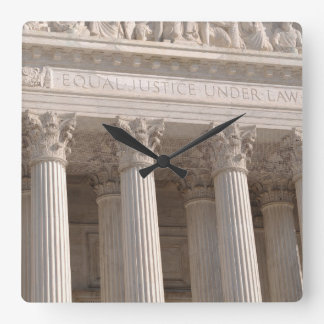 Supreme Court of the United States Square Wall Clock