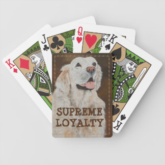 Supreme Loyalty Bicycle Playing Cards