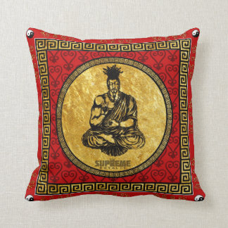 Supreme Royalty First Buddhist Pillow(Red,Gold) Cushion