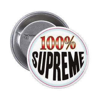 Supreme Tag 6 Cm Round Badge