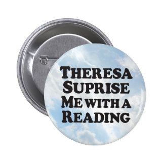 Suprise Reading - Round Bumper 6 Cm Round Badge