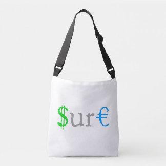 Sure funny money crossbody bag
