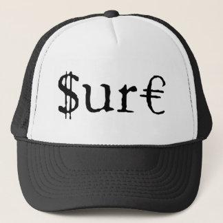 Sure funny money customizable trucker hat