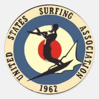 surf-3 round sticker