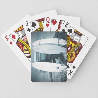 Surf 3 surfboards quiver blue surfboard surfing playing cards