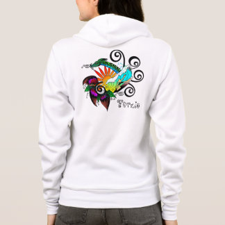 Surf Abstract Hoodie