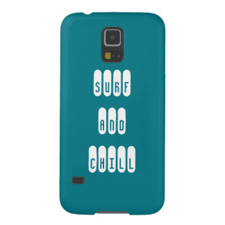 Surf and Chill phonecase Galaxy S5 Covers