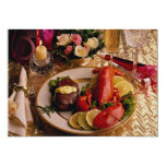 Surf and turf 13 cm x 18 cm invitation card