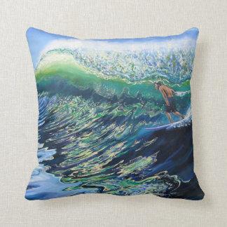 Surf Art Reversible Pillow