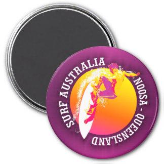 Surf Australia (Noosa) 7.5 Cm Round Magnet