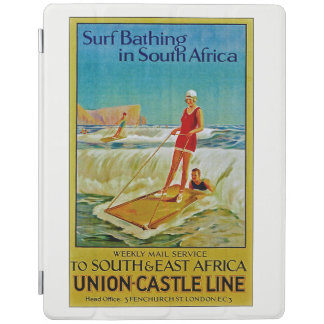 Surf Bathing in South Africa iPad Cover