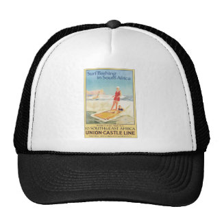 Surf Bathing In South Africa , Vintage Trucker Hats