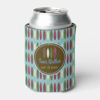 surf&beer / surfing custom can cooler