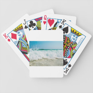 surf bicycle playing cards