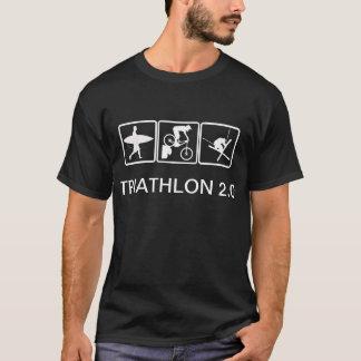 Surf, Bike, Ski - Triathlon 2.0 T-Shirt