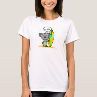 Surf Board Koala Bear Shirt
