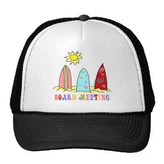 Surf Board Meeting Cap