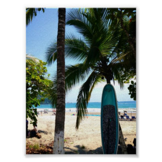 Surf Board Poster