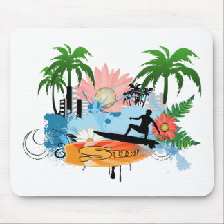 Surf boarder mousepads