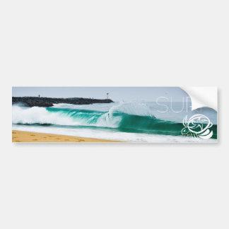 surf bumper bumper sticker
