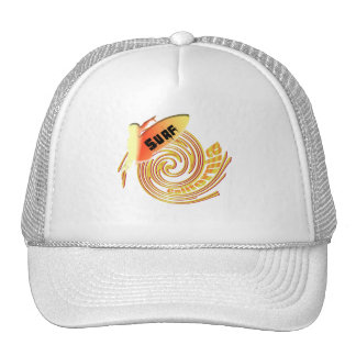Surf California Californian surfers surfing gifts Cap