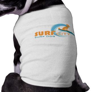 Surf City Surf Dog - Dog Apparel Sleeveless Dog Shirt