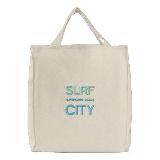 SURF CITY tote/beach bag