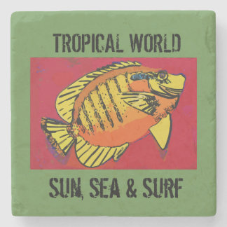 Surf Club Stone Coaster