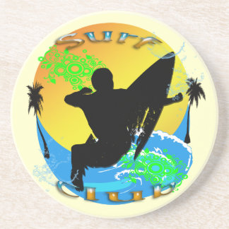 Surf Club - Surfer Sandstone Coaster